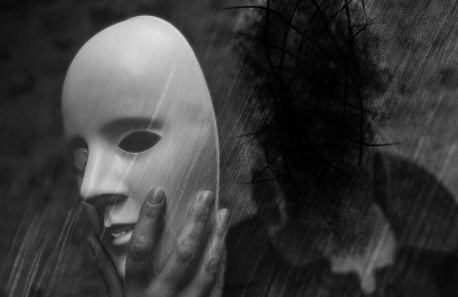 om cu masca