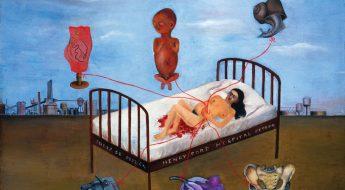 pictura pat de spital